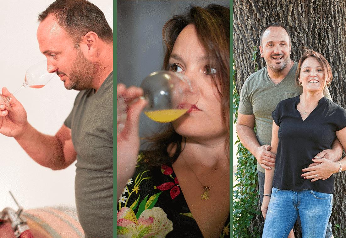 producteur de vin, bio, côte du rhône
